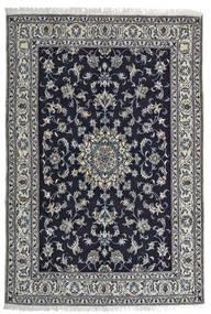 Nain Matta 164X242 Äkta Orientalisk Handknuten Svart/Ljusgrå (Ull, Persien/Iran)