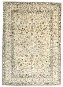 Keshan Matta 241X342 Äkta Orientalisk Handknuten Beige/Mörkbeige (Ull, Persien/Iran)