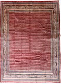 Sarough Mir Matta 267X362 Äkta Orientalisk Handknuten Mörkröd/Mörkbrun Stor (Ull, Persien/Iran)