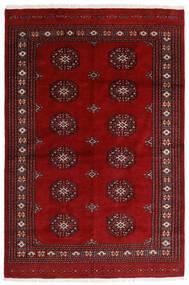 Pakistan Bokhara 3Ply Matta 168X253 Äkta Orientalisk Handknuten Mörkröd/Röd (Ull, Pakistan)