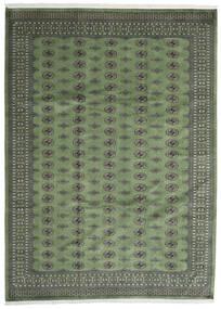 Pakistan Bokhara 2Ply Matta 250X344 Äkta Orientalisk Handknuten Mörkgrå/Olivgrön Stor (Ull, Pakistan)
