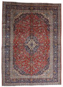 Keshan Matta 287X403 Äkta Orientalisk Handknuten Mörkröd/Mörkbrun Stor (Ull, Persien/Iran)