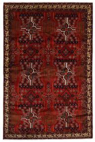 Beluch Matta 192X294 Äkta Orientalisk Handknuten Mörkröd/Mörkbrun (Ull, Persien/Iran)