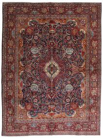 Kashmar Matta 288X387 Äkta Orientalisk Handknuten Mörkröd/Mörkbrun Stor (Ull, Persien/Iran)