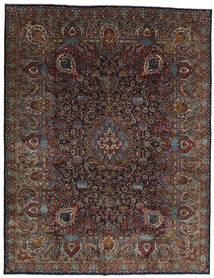 Kashmar Matta 303X391 Äkta Orientalisk Handknuten Mörkbrun/Mörkgrå Stor (Ull, Persien/Iran)