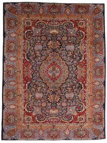 Kashmar Matta 289X386 Äkta Orientalisk Handknuten Mörkröd/Mörkbrun Stor (Ull, Persien/Iran)