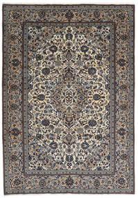 Keshan Matta 237X343 Äkta Orientalisk Handknuten Mörkgrå/Ljusgrå (Ull, Persien/Iran)