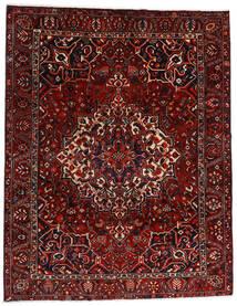 Bakhtiar Matta 277X356 Äkta Orientalisk Handknuten Mörkröd/Mörkbrun Stor (Ull, Persien/Iran)