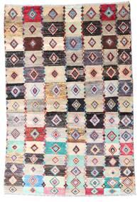 Moroccan Berber - Afghanistan Matta 137X204 Äkta Modern Handknuten Beige/Ljusgrå (Ull, Afghanistan)