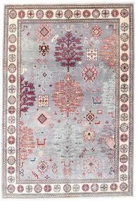 Kazak Matta 120X176 Äkta Orientalisk Handknuten Ljuslila/Ljusrosa (Ull, Afghanistan)