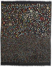 Kelim Moderna Matta 181X228 Äkta Modern Handvävd Svart/Mörkgrå (Ull, Afghanistan)
