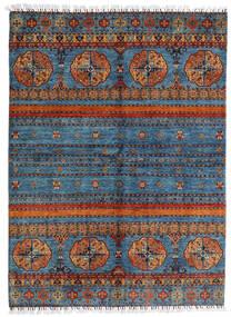 Shabargan Matta 177X240 Äkta Modern Handknuten Mörkgrå/Blå (Ull, Afghanistan)