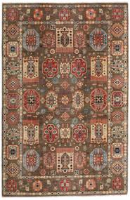 Kazak Matta 197X299 Äkta Orientalisk Handknuten Ljusbrun/Mörkbrun (Ull, Afghanistan)