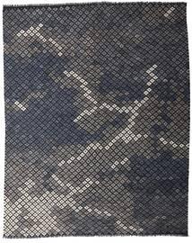 Kelim Moderna Matta 233X288 Äkta Modern Handvävd Mörkgrå (Ull, Afghanistan)