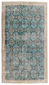 Vintage Heritage Matta 112X197 Äkta Modern Handknuten Ljusgrå/Turkosblå (Ull, Persien/Iran)