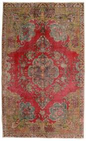 Vintage Heritage Matta 140X230 Äkta Modern Handknuten Mörkbrun/Mörkröd (Ull, Persien/Iran)