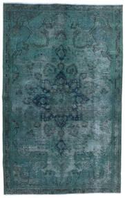 Vintage Heritage Matta 147X233 Äkta Modern Handknuten Mörk Turkos/Blå (Ull, Persien/Iran)