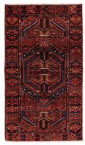 Hamadan Matta 106X199 Äkta Orientalisk Handknuten Mörkröd (Ull, Persien/Iran)