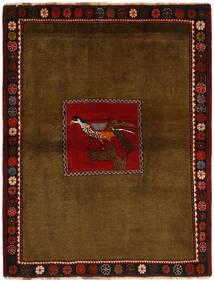 Ghashghai Matta 130X170 Äkta Orientalisk Handknuten Brun/Mörkbrun (Ull, Persien/Iran)