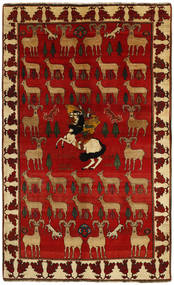 Ghashghai Matta 159X258 Äkta Orientalisk Handknuten Mörkbrun/Roströd (Ull, Persien/Iran)