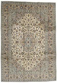 Keshan Matta 248X354 Äkta Orientalisk Handknuten Mörkbrun/Svart (Ull, Persien/Iran)