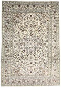 Keshan Matta 247X355 Äkta Orientalisk Handknuten Beige/Ljusgrå (Ull, Persien/Iran)
