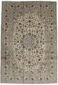 Keshan Matta 246X357 Äkta Orientalisk Handknuten Mörkbrun/Svart (Ull, Persien/Iran)