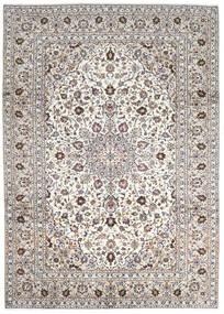 Keshan Matta 252X345 Äkta Orientalisk Handknuten Ljusgrå/Beige Stor (Ull, Persien/Iran)