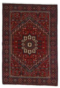 Gholtogh Matta 107X154 Äkta Orientalisk Handknuten Mörkröd/Mörkbrun (Ull, Persien/Iran)