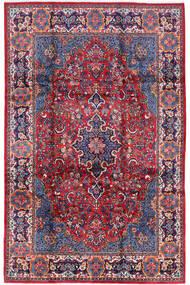 Golpayegan Matta 210X322 Äkta Orientalisk Handknuten Mörklila/Ljuslila (Ull, Persien/Iran)