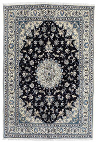 Nain Matta 166X248 Äkta Orientalisk Handknuten Mörkgrå/Svart (Ull, Persien/Iran)
