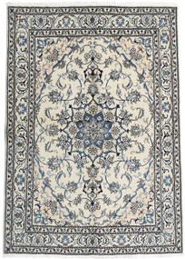 Nain Matta 163X228 Äkta Orientalisk Handknuten Mörkgrå/Beige (Ull, Persien/Iran)