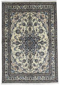 Nain Matta 165X238 Äkta Orientalisk Handknuten Ljusgrå/Mörkgrå (Ull, Persien/Iran)