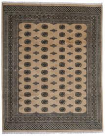 Pakistan Bokhara 2Ply Matta 246X312 Äkta Orientalisk Handknuten Mörkgrå/Ljusbrun (Ull, Pakistan)