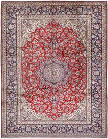 Najafabad Matta 303X393 Äkta Orientalisk Handknuten Ljusgrå/Brun Stor (Ull, Persien/Iran)