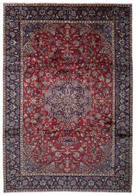 Najafabad Matta 262X375 Äkta Orientalisk Handknuten Svart/Ljusgrå Stor (Ull, Persien/Iran)