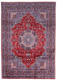 Mashad Matta 247X344 Äkta Orientalisk Handknuten Ljusgrå/Röd (Ull, Persien/Iran)