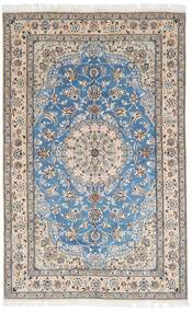 Nain 9La Matta 156X250 Äkta Orientalisk Handknuten Ljusgrå/Vit/Cremefärgad (Ull/Silke, Persien/Iran)