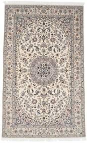 Nain 9La Matta 153X249 Äkta Orientalisk Handknuten Ljusgrå/Beige (Ull/Silke, Persien/Iran)