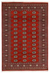 Pakistan Bokhara 2Ply Matta 166X240 Äkta Orientalisk Handknuten Svart/Mörkröd/Mörkbrun (Ull, Pakistan)