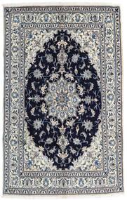 Nain Matta 158X252 Äkta Orientalisk Handknuten Ljusgrå/Svart (Ull, Persien/Iran)