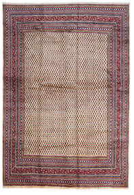 Sarough Mir Matta 268X387 Äkta Orientalisk Handknuten Mörkbrun/Beige Stor (Ull, Persien/Iran)