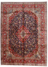 Keshan Matta 296X400 Äkta Orientalisk Handknuten Mörkröd/Mörklila Stor (Ull, Persien/Iran)