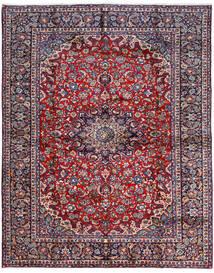 Najafabad Matta 300X381 Äkta Orientalisk Handknuten Mörklila/Mörkgrå Stor (Ull, Persien/Iran)