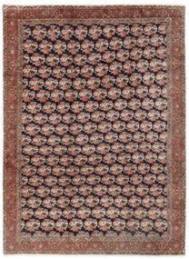 Bidjar Matta 254X343 Äkta Orientalisk Handknuten Mörkröd/Brun Stor (Ull, Persien/Iran)