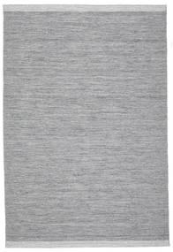 Serafina - Mörkgrå Melerad Matta 200X300 Äkta Modern Handvävd Ljusgrå/Ljusblå (Ull, Indien)