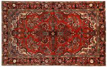 Hosseinabad Matta 149X240 Äkta Orientalisk Handknuten Mörkröd/Mörkbrun (Ull, Persien/Iran)