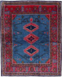 Wiss Matta 180X228 Äkta Orientalisk Handknuten Mörkblå/Svart (Ull, Persien/Iran)