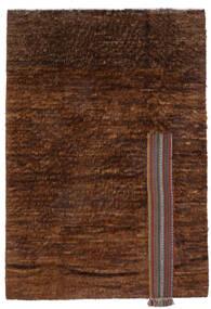 Moroccan Berber - Afghanistan Matta 194X281 Äkta Modern Handknuten Mörkbrun/Brun (Ull, Afghanistan)