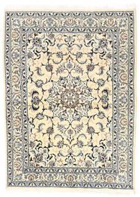 Nain Matta 150X210 Äkta Orientalisk Handknuten Beige/Ljusgrå (Ull, Persien/Iran)